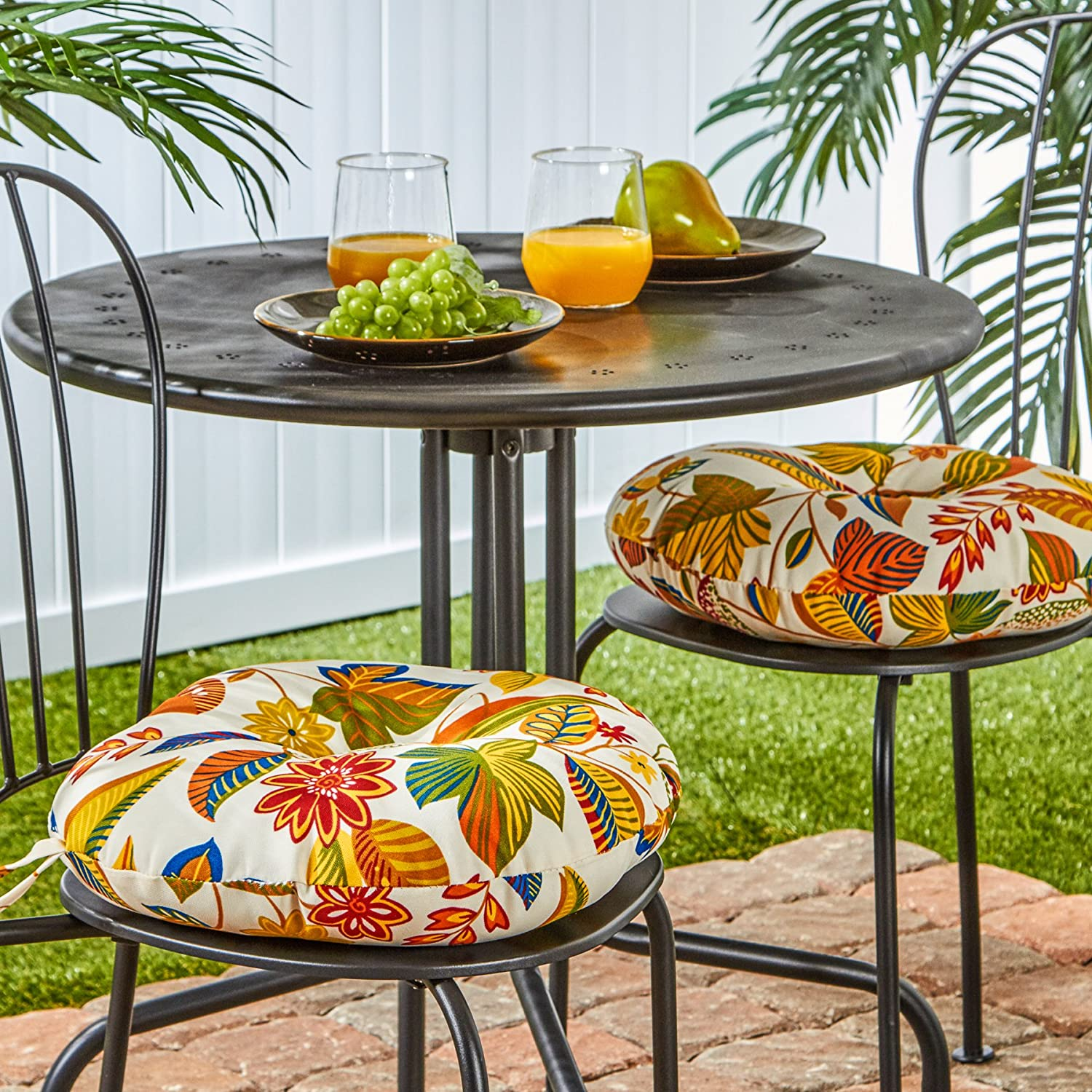 amazon com greendale home fashions round indoor outdoor bistro