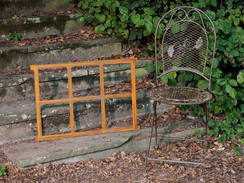 Marco ventana de hierro ventana del granero de hierro ventana de 68x49cm