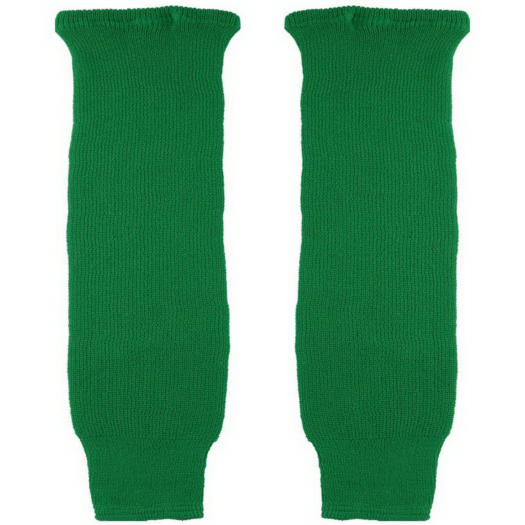 CCM Solid Color Practice Hockey Sock Senior - KELLEY GREEN