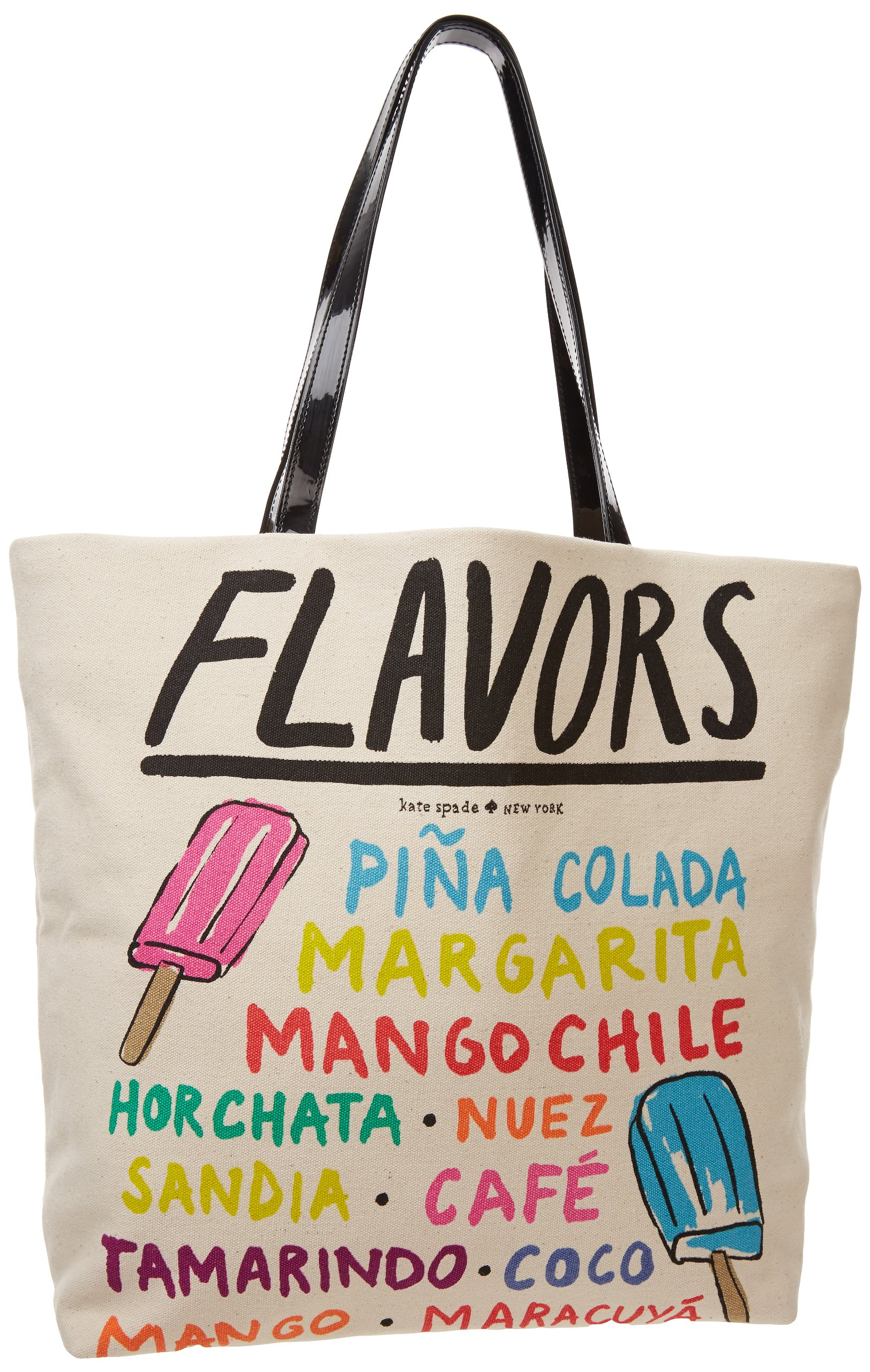 Kate Spade New York South Of The Border - Bon Shopper Shoulder Bag,Mexican Popsicle,One Size