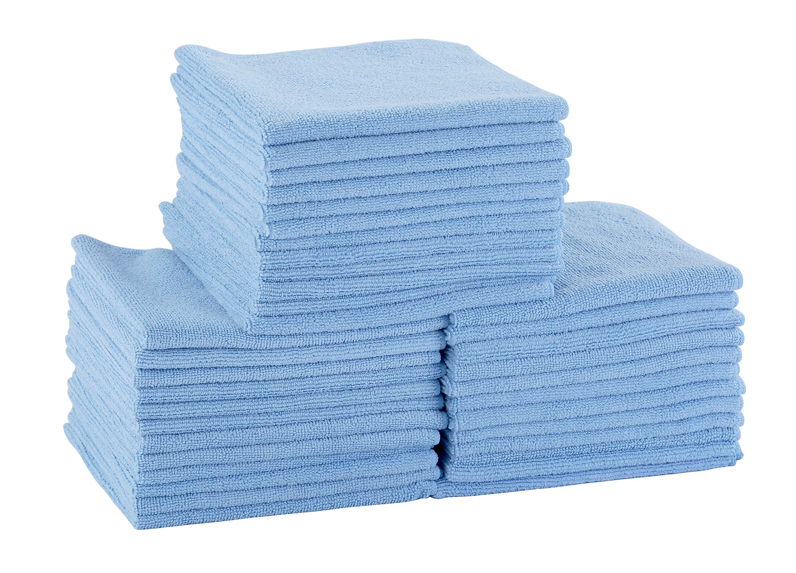 DRI Professional Extra-Thick Microfiber Cleaning Cloth 72 Pack Blue by DRI (Image #1)