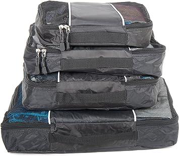 Pack de 4 bolsas de almacenaje para viaje, Organizadores de viaje ...