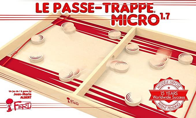 ab 6 Jahren Groß für 2 Spieler Passe-Trappe 980 x 530