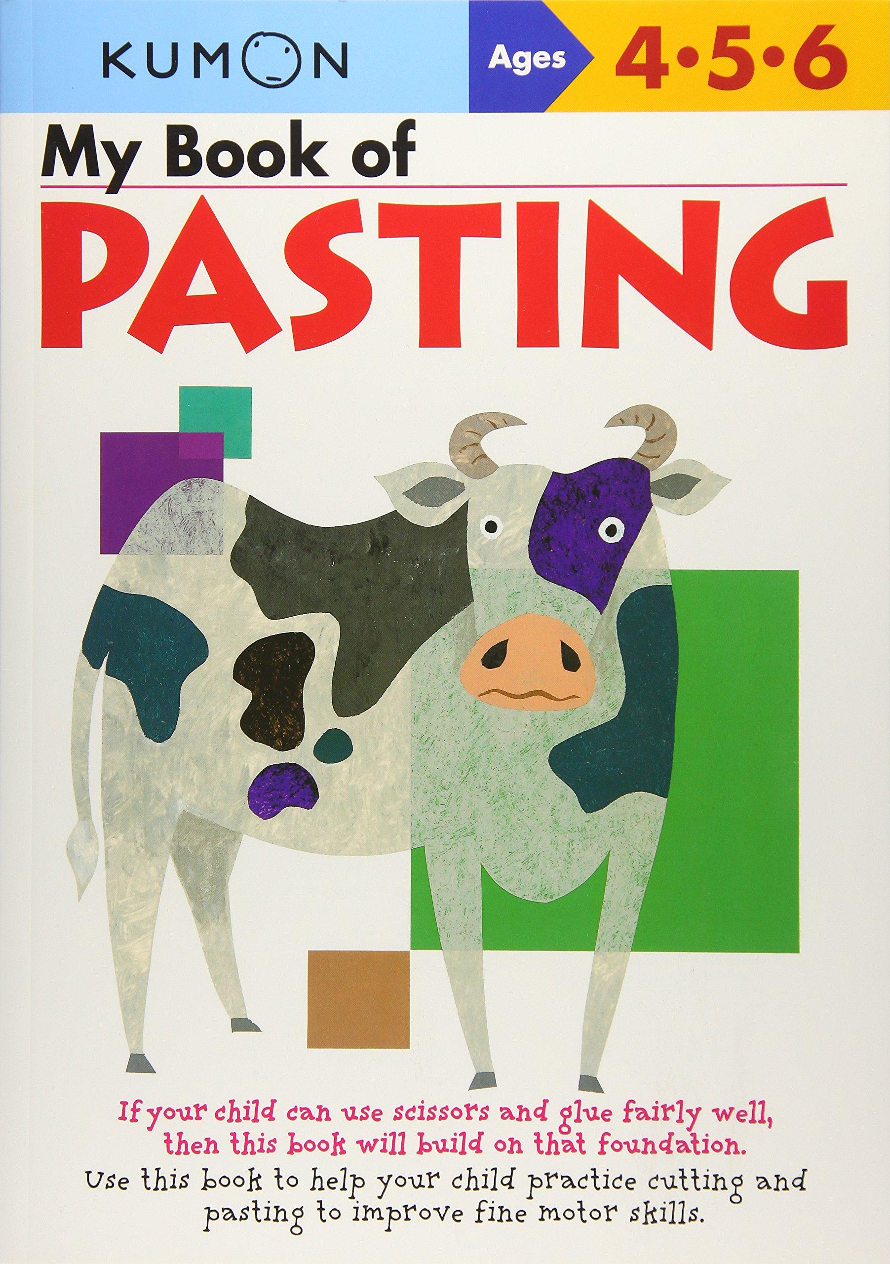 Amazon.com: My Book of Pasting (Kumon Workbooks) (9781933241029 ...