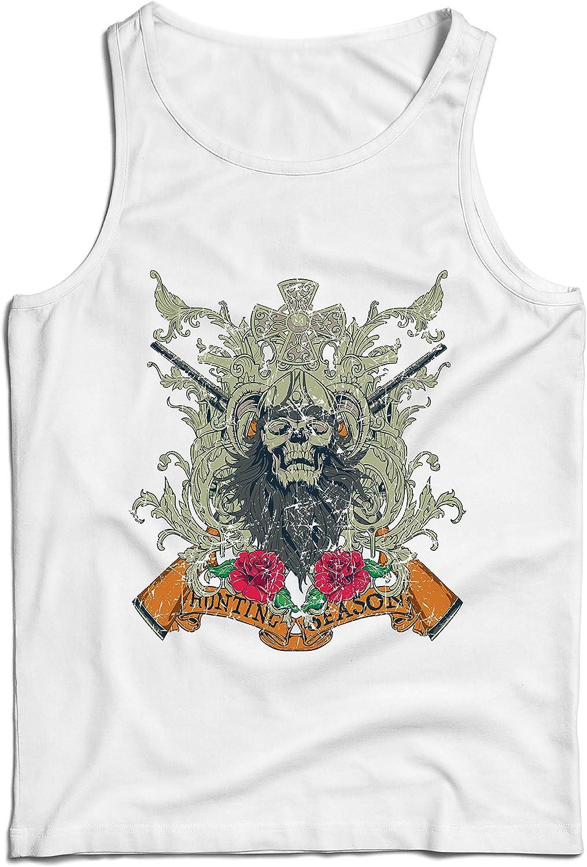 lepni.me Camisetas de Tirantes para Hombre Ropa de Temporada de Caza - Caza de venado o Pato, Ropa de Cazador