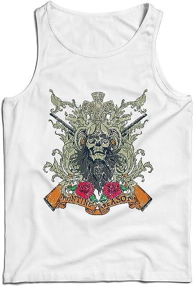 lepni.me Camisetas de Tirantes para Hombre Ropa de Temporada de Caza - Caza de venado o Pato, Ropa de Cazador: Amazon.es: Ropa y accesorios
