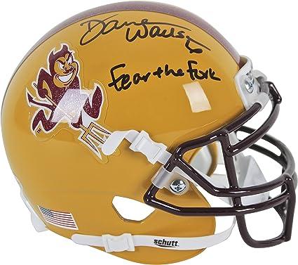 Arizona State Darren Woodson Authentic Signed Schutt Mini Helmet BAS Witnessed