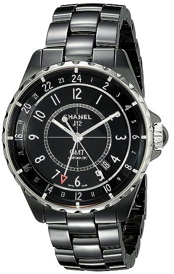 Chanel h3102 negro cerámica reloj de la mujer