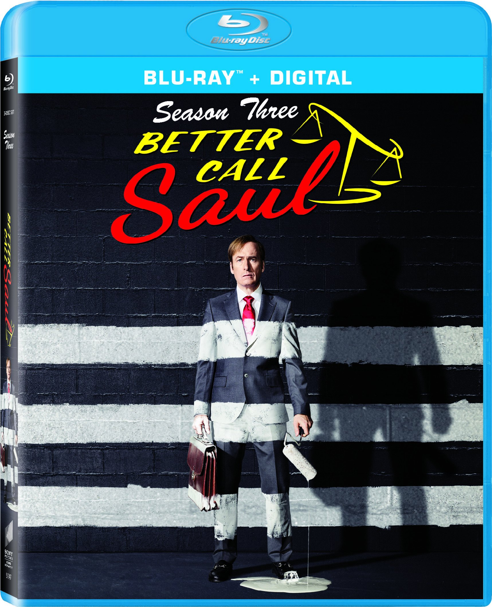 Blu-ray : Better Call Saul: Season Three (Ultraviolet Digital Copy, Dolby, AC-3, Widescreen, )