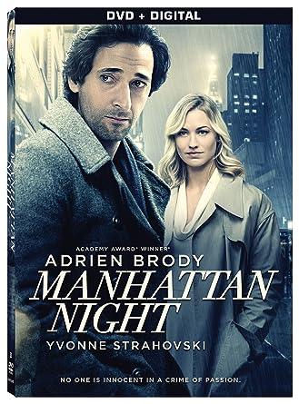 manhattan dvd  : Manhattan Night [DVD + Digital]: Adrien Brody, Yvonne ...