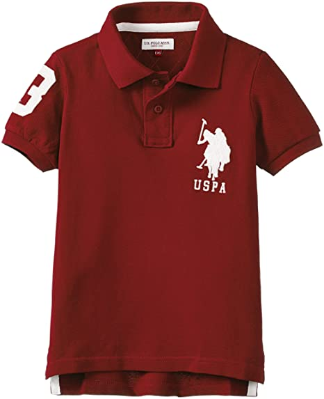 c85cea969d0 US Polo Association Boys' T-Shirt  Amazon.in  Clothing   Accessories