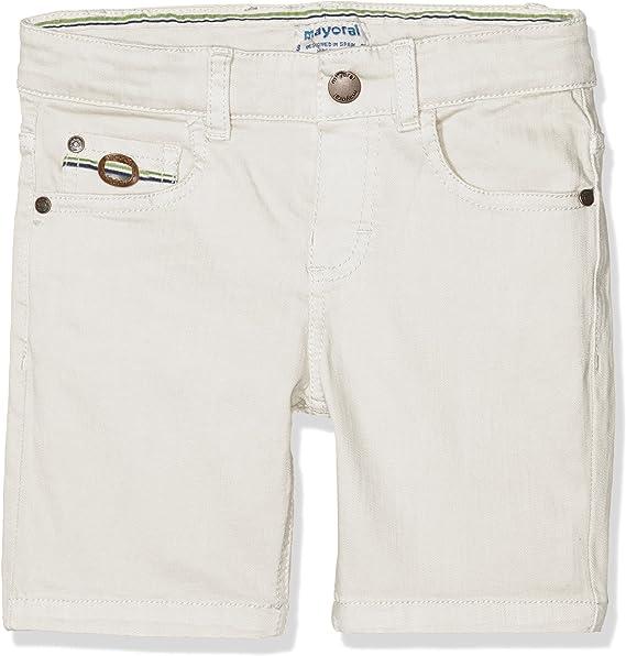 Mayoral Bermuda Shorts Pantalones Cortos, Blanco (Escayola 45), 6 años para Niños: Amazon.es: Ropa y accesorios