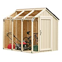 Deals on 2x4basics 90192MI Custom Shed Kit with Peak Roof