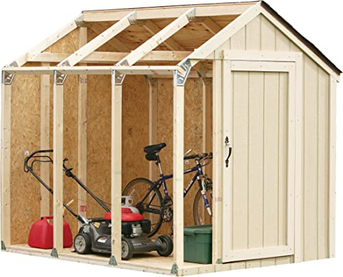 2x4basics 90192MI Custom Shed Kit