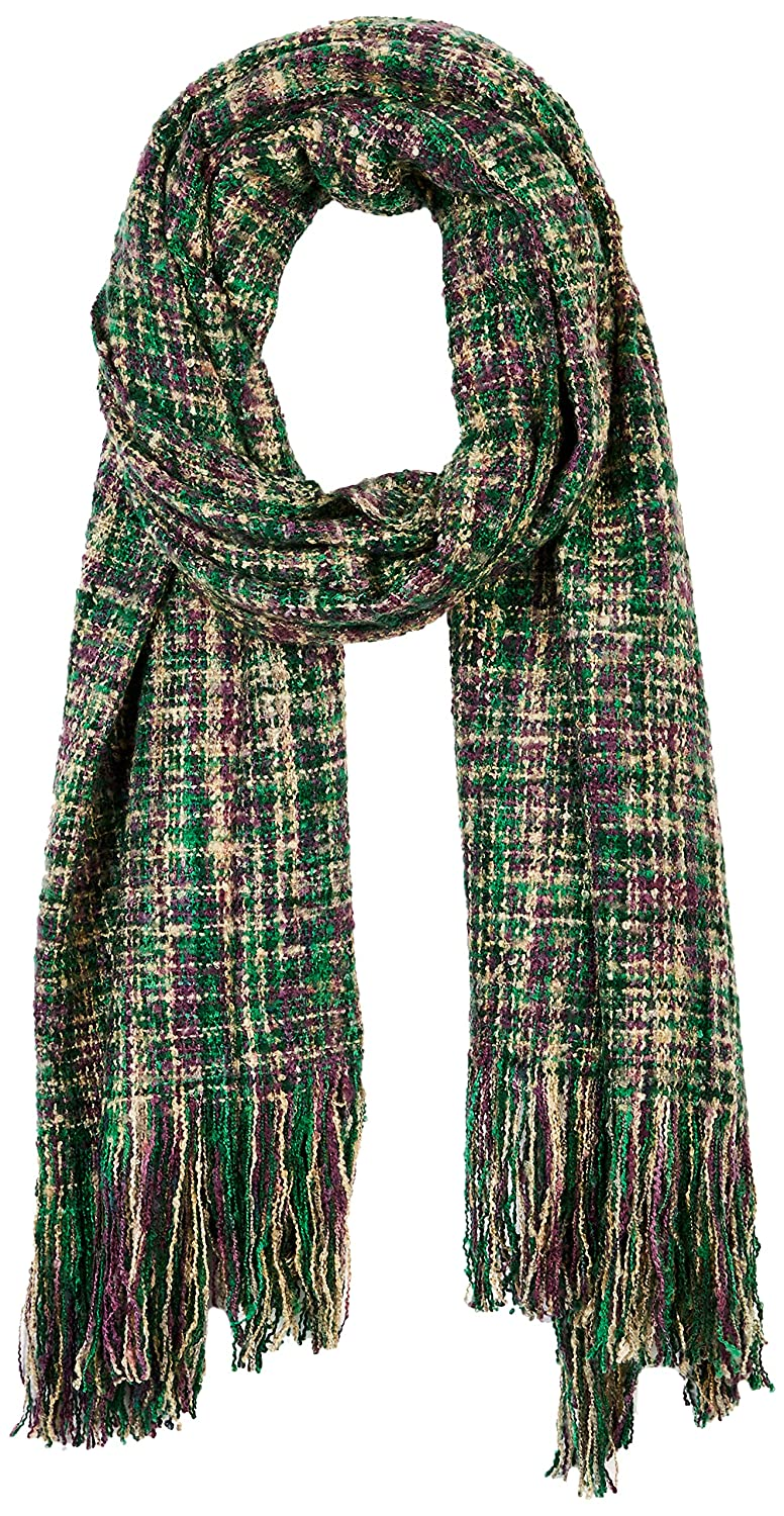 color 1 Beautiful Nomad Pashmina Shawl Wrap Scarf in Solid and Plaid Pattern