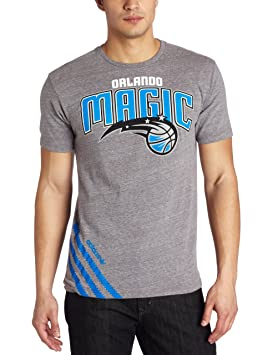 NBA Orlando Magic Originals corte serie grandes rayas tri-blend maillot de manga corta camiseta