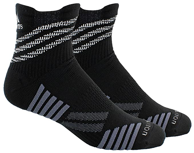adidas Speed Mesh Basketball/Football Team High Quarter Socks
