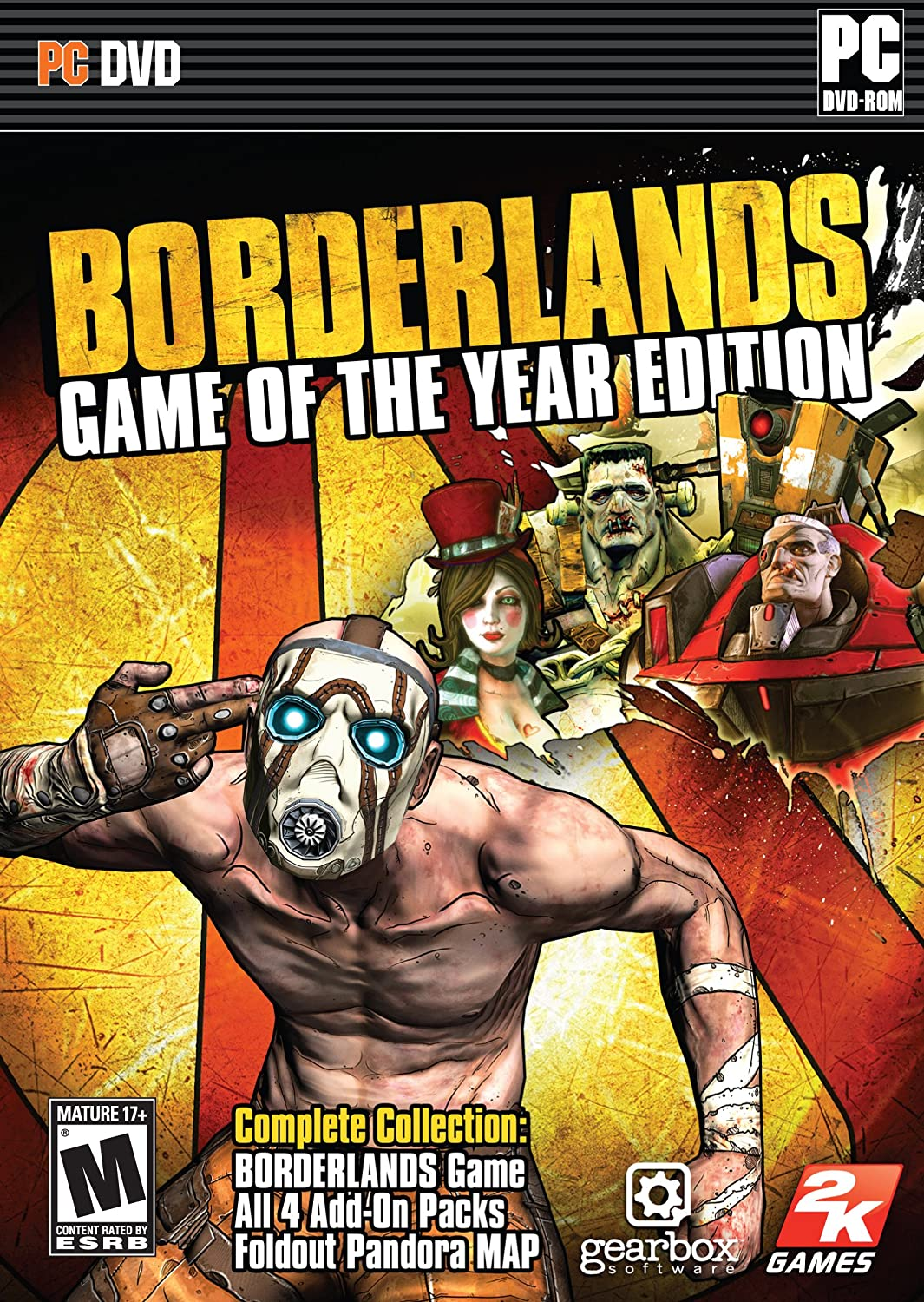 Amazon.com: Borderlands Game of the Year - PC: Video Games