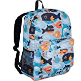 Backpack by Wildkin 16-Inch Moisture Resistant with Adjustable, Padded Straps, Ages 6-15 Years