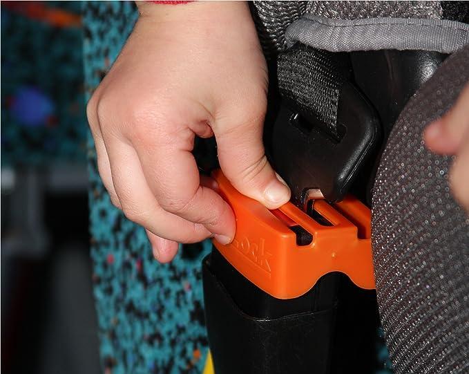 Auto BeltLock evitar que los niños y los niños de apertura del cinturón de seguridad de la sillita de coche