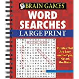 Brain Games - Word Searches (Large Print)