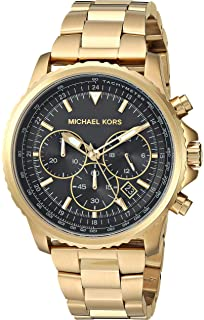 4906ccf3f47f Michael Kors Men s Theroux Analog-Quartz Watch with Stainless-Steel-Plated  Strap