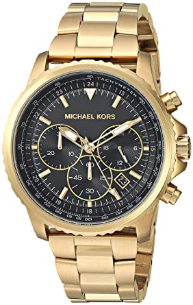 3d9909761485 Image Unavailable. Image not available for. Color  Michael Kors Men s  Theroux Analog-Quartz Watch ...