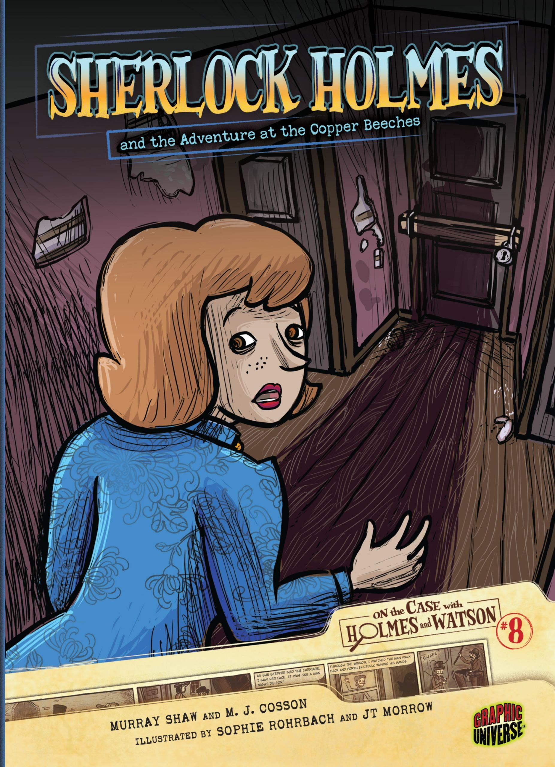 Sherlock Holmes and the Adventure at the Copper Beeches: Case 8 (On the Case with Holmes and Watson) pdf epub