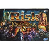 Hasbro Gaming Risk: The Lord of The Rings Trilogy Edition, Strategy Board Game for Ages 10 and Up, for 2-4 Players