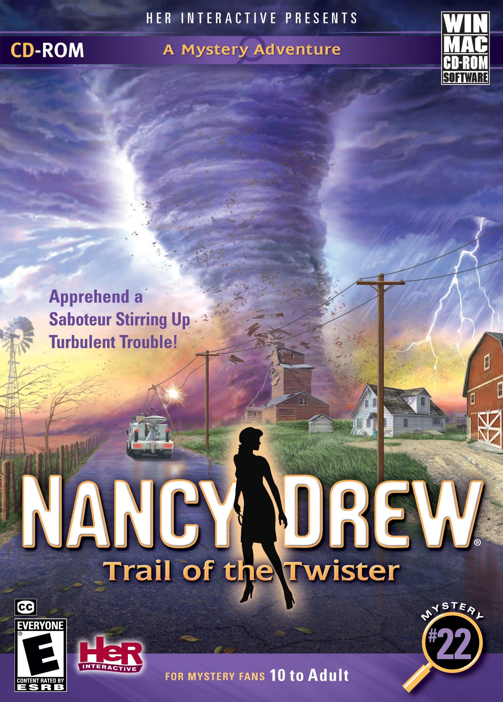 Nancy Drew: Trail of the Twister - Mac