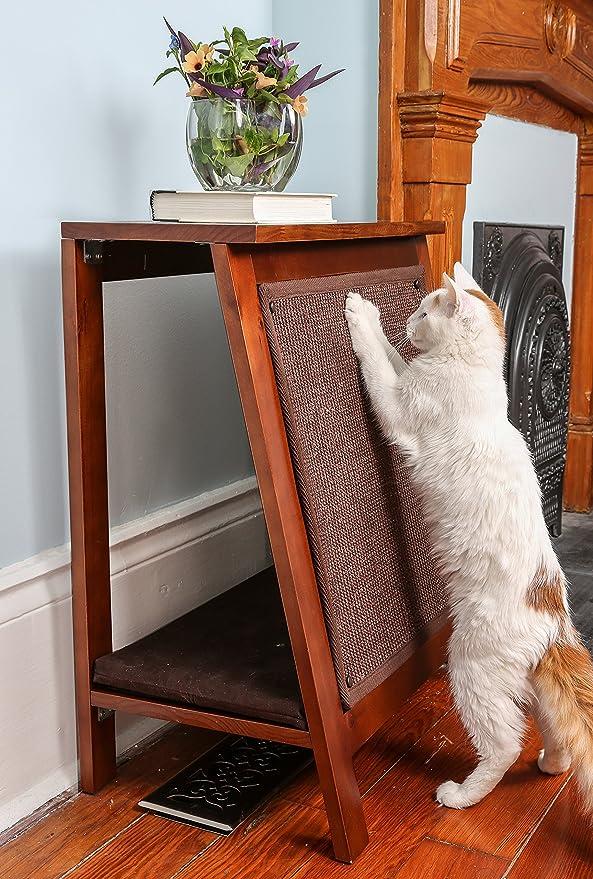 The Refined Feline El Refinado de a-Frame - Rascador de Cama de Gato de Tigre: Amazon.es: Productos para mascotas