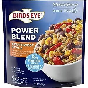 Birds Eye Steamfresh Southwest Style Power Blend, Frozen Side, 12.7 OZ