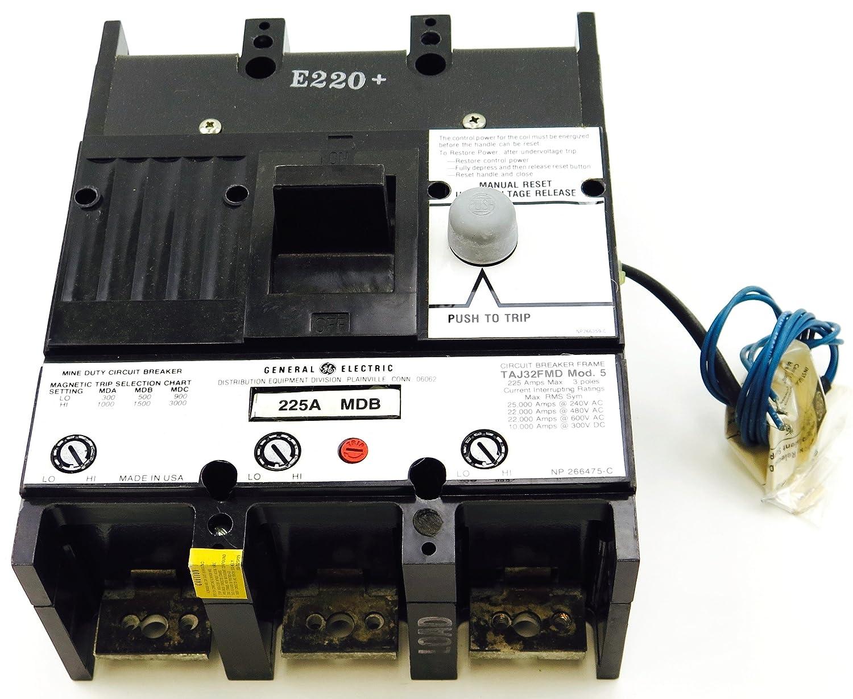 Taj32fmd Ge Circuit Breaker Dc 3 Pole Wiring Diagram