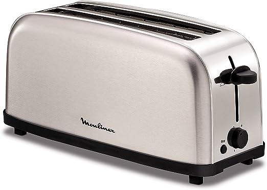 Moulinex Classic LS330D - Tostador Acero Inoxidable, 2 Ranuras ...