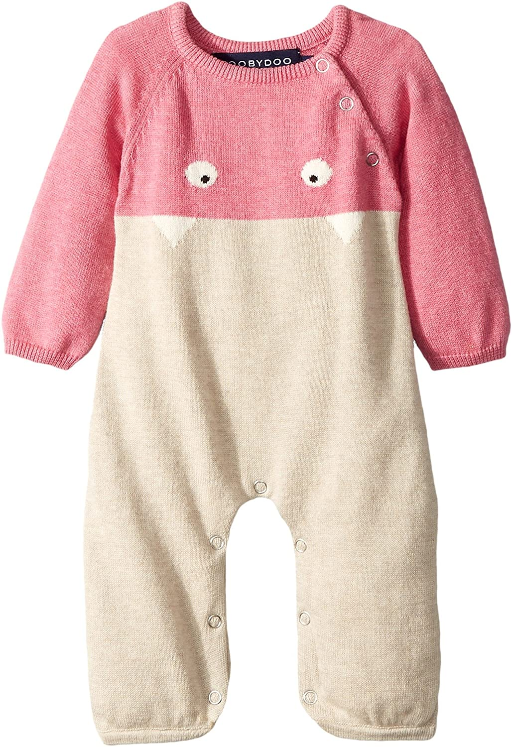 Toobydoo Womens Little Monsters III Cotton Knit Jumpsuit (Infant)