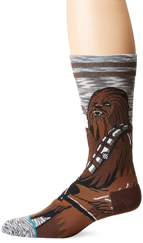 Stance x Star Wars Chewie Pal Socks Gray M545D17CHW