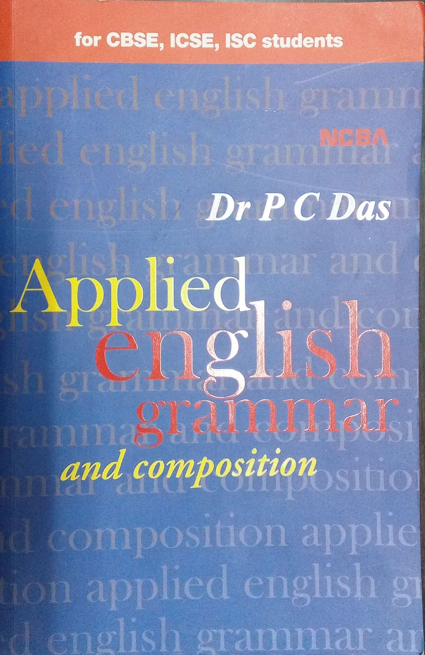 Buy An Applied English Grammar and Composition (for CBSE