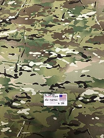 amazon 米軍実物 multicam マルチカム リップストップ R S 迷彩生地