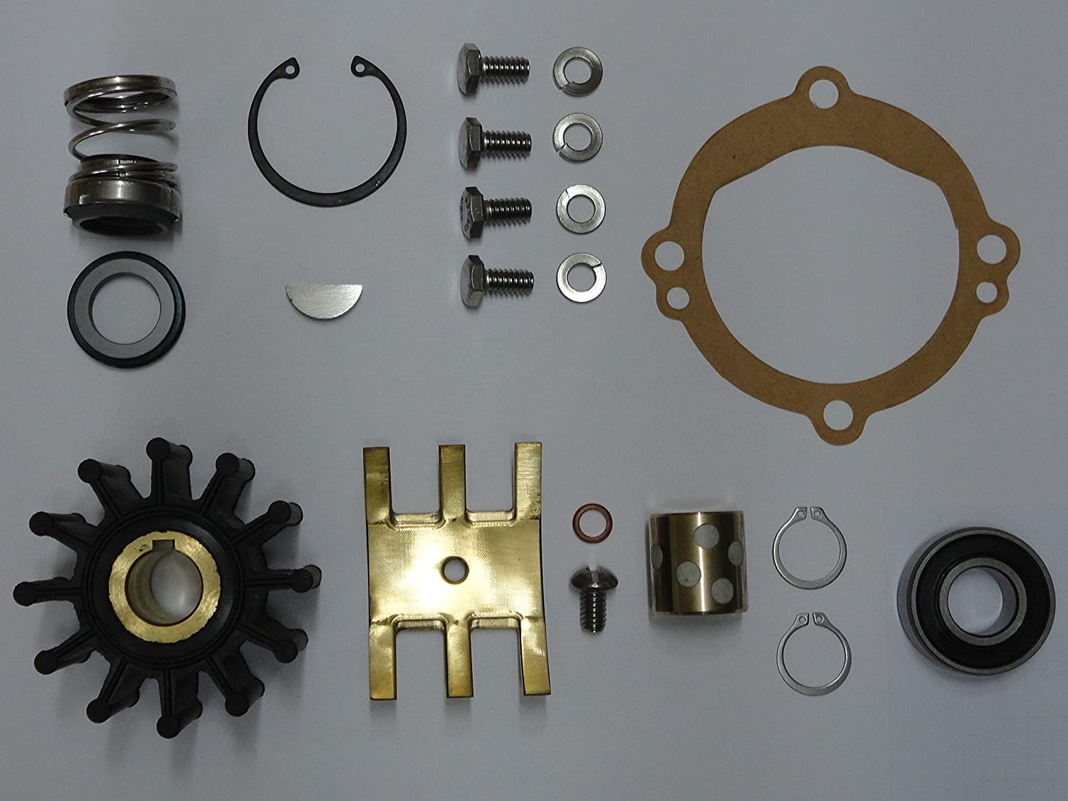 StayCoolPumps Major Repair Kit Replaces Crusader 20311 Sherwood 11068 Water Pump E35 R102