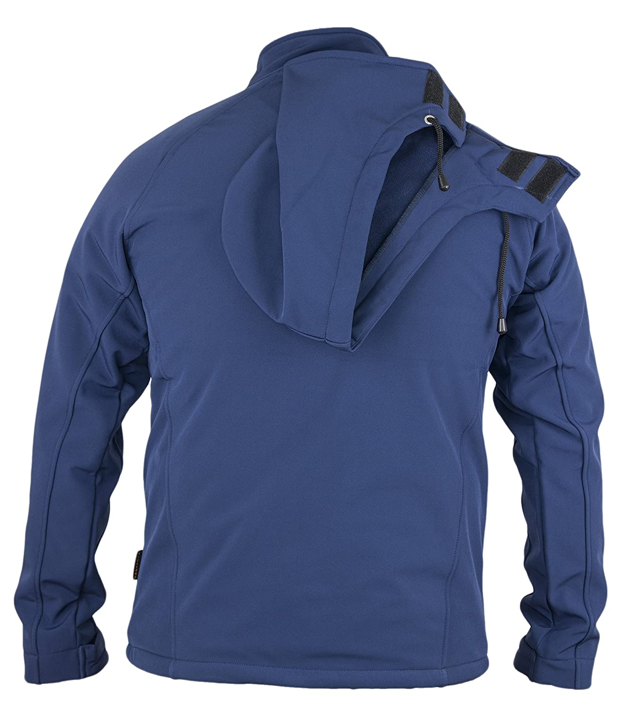 Softshell Jacke mit Kapuze Allrounder für Arbeit und Freizeit Berufskleidung