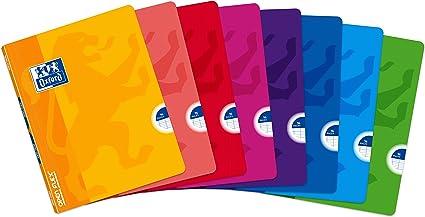 Oxford Openflex 400026392 - Pack de 10 libretas grapadas de tapa blanda, A5+: Amazon.es: Oficina y papelería