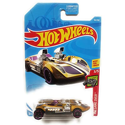 HOT Wheels 1:64 Scale Game Over 3/5, Treasure Hunt Gold Twin Mill 93/250: Toys & Games