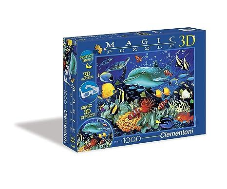 Geduldspiel Unterwasserwelt Puzzle 1000 Teile Spiel Deutsch 2011 Puzzles