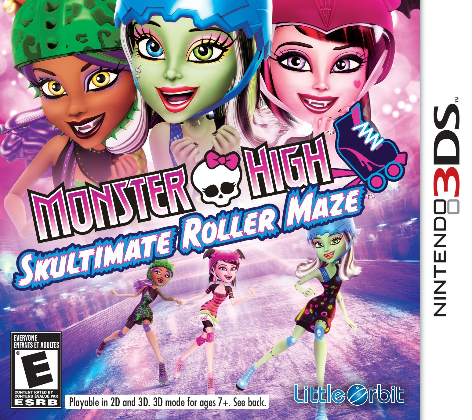 Monster High: Skultimate Roller Maze - Nintendo 3DS
