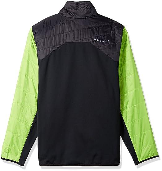Amazon.com: Spyder Mens Glissade Half Zip Insulator Jacket: Sports & Outdoors