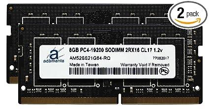 Adamanta 16GB (2x8GB) Laptop Memory Upgrade for Intel NUC