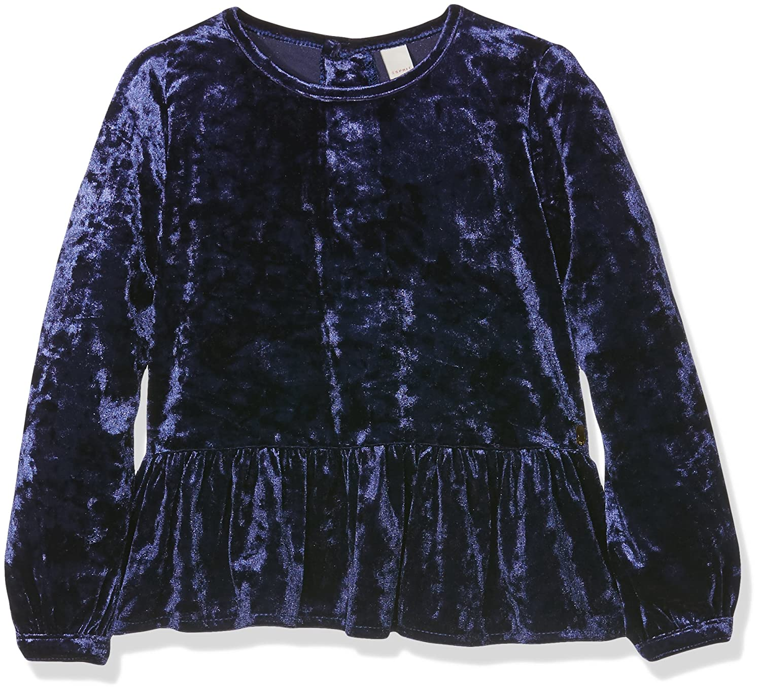 ESPRIT Kids Girl's Bluse Blouse Blue (Navy Blue 470) 6 Years RI12023