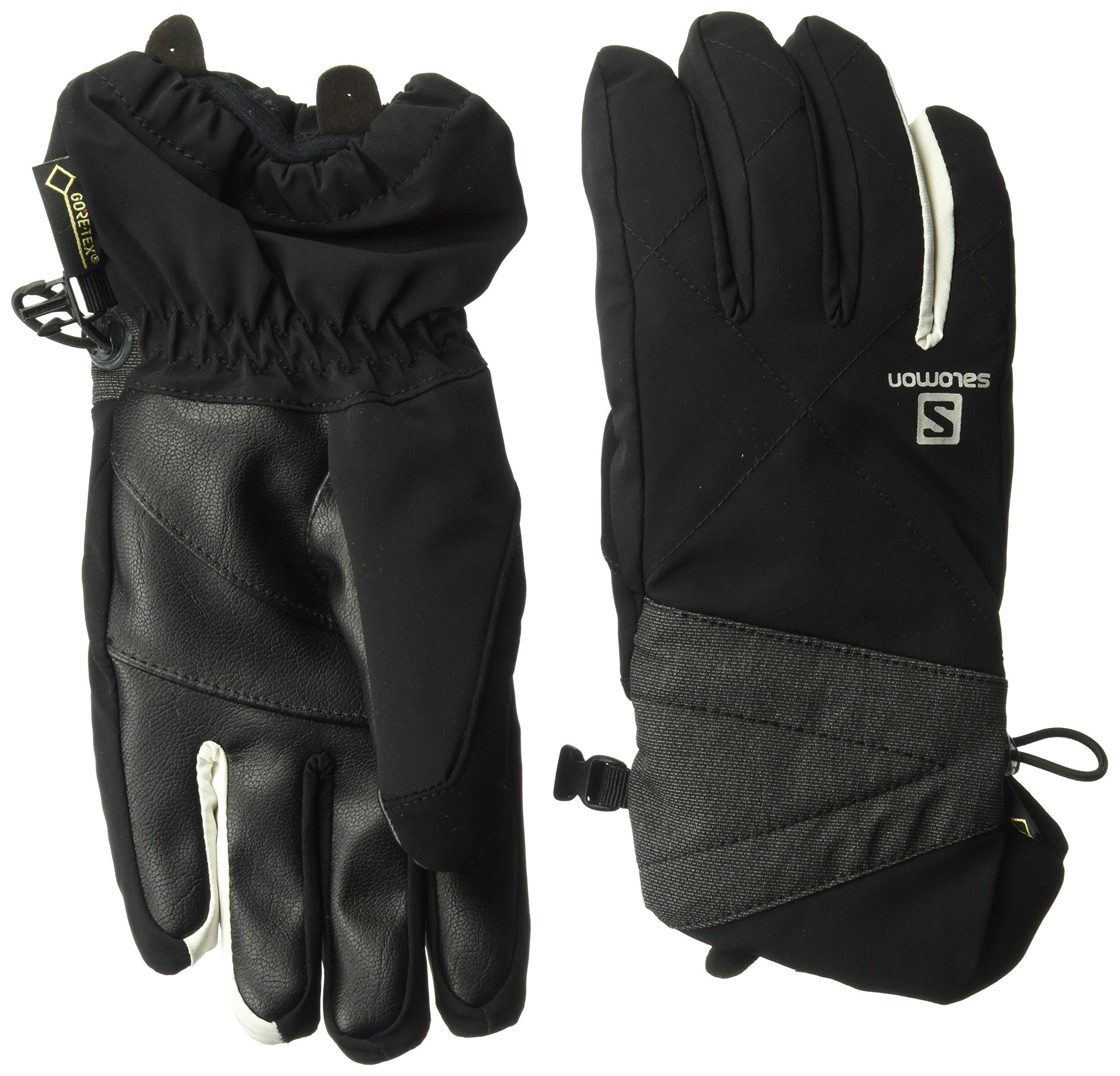 Salomon Women's Icon GTX Gloves, Black, Large