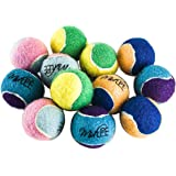 """Midlee X-Small Dog Tennis Balls 1.5"""" Pack of 12"""