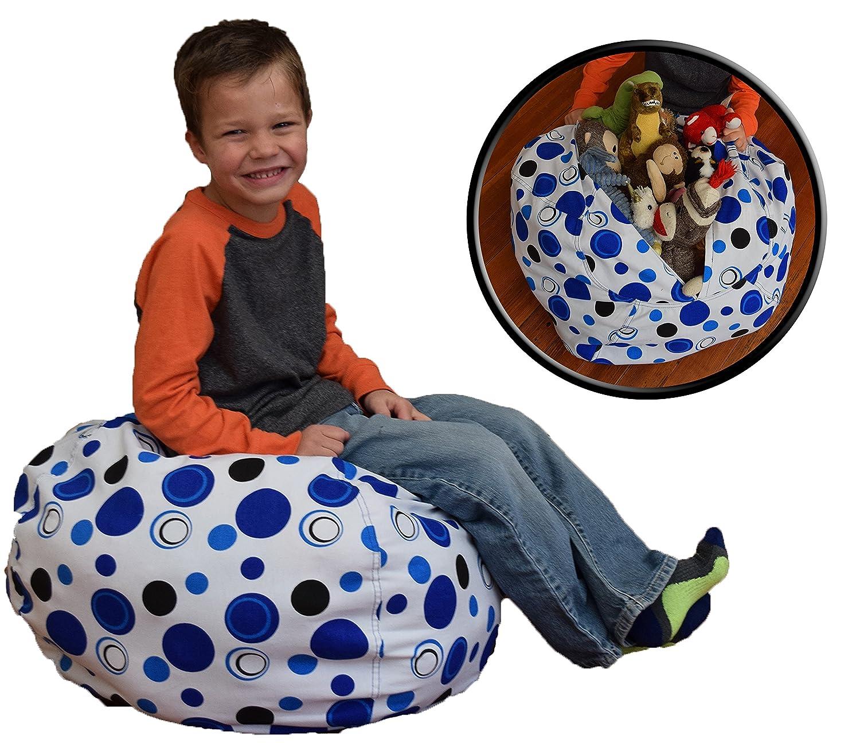 Amazon Stuffed Animal Storage Bean Bag Chair Premium Cotton
